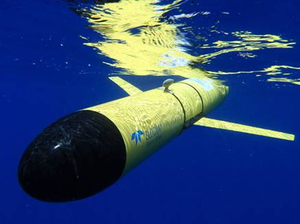Underwater Vehicles True North